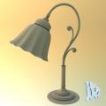 Lampe ohne Texturen