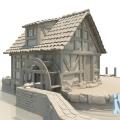 Mühle ohne Texturen