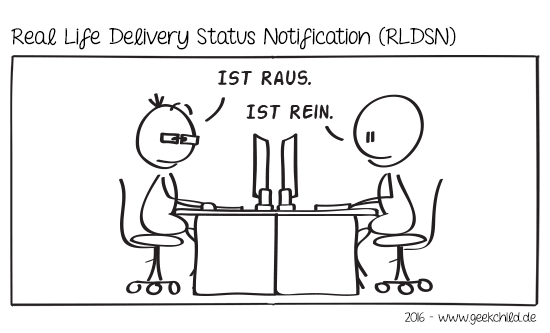GC Comic 50 – Real Life Delivery Status Notification (RLDSN)