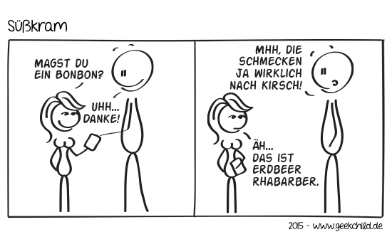 GC Comic 11 – Süßkram