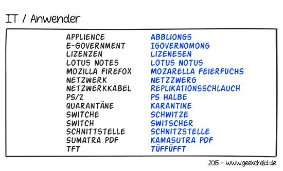 GC Comic 16 – IT / Anwender